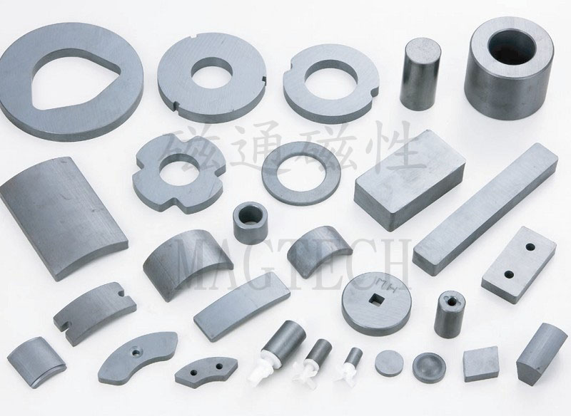 Ferrite Magnets (Made by mold)